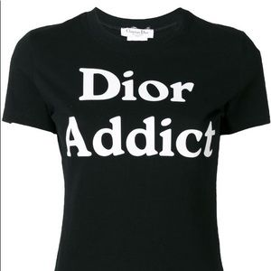 "Authentic Rare Vintage Dior ""Dior Addict"" Tee"